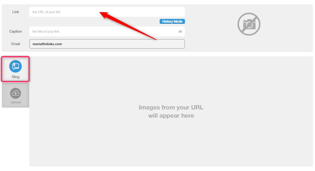 Paste your link